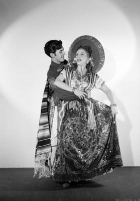 América y Ricardo Luna, bailarines