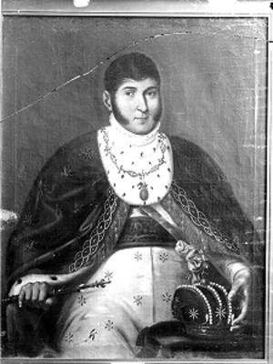 Agustín de Iturbide, retrato