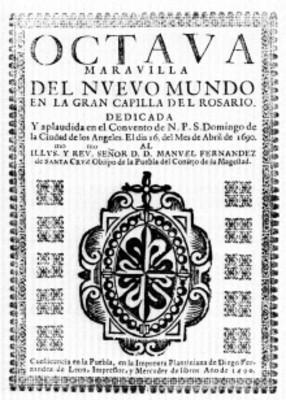 Libro Octava maravilla del Nuevo Mundo, portada