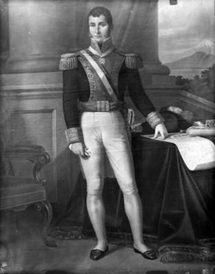 Agustín de Iturbide, pintura al óleo