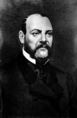 Ignacio Comonfort, presidente de México, reprografía