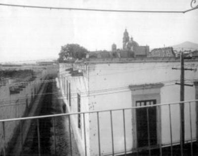 Panorámica de Morelia tomada desde un balcón de la casa de Jose Ma. Morelos