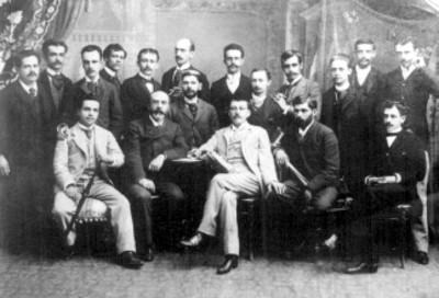 Escritores y novelistas mexicanos, retrato de grupo