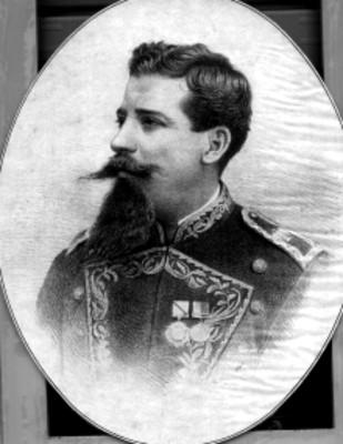 Litografia del general Bernardo Reyes