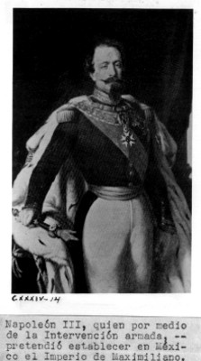 Retrato de Napoleón III, reprografía