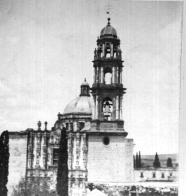 Iglesia de San Francisco, vista de la torre