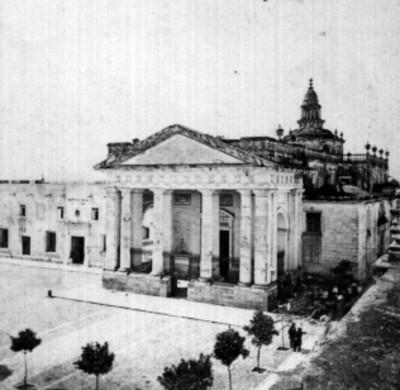 Iglesia de La Compañía de Jesús, vista parcial