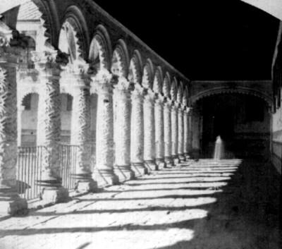Convento de la Merced, arcada