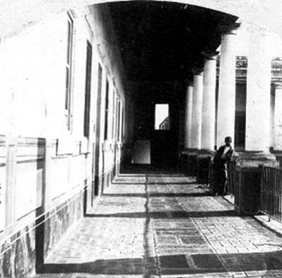 Convento de Balvonera, corredor
