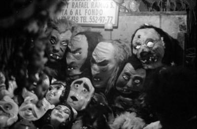 Puesto de mascaras