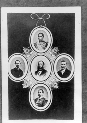 Medallón conmemorativo del Imperio de Maximiliano de Habsburgo, reprografía