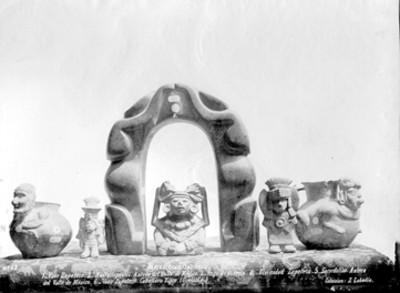 Escultura y cerámica prehispánica, colección