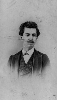 """""""Andrés Arroyo"""", tarjeta de visita"""