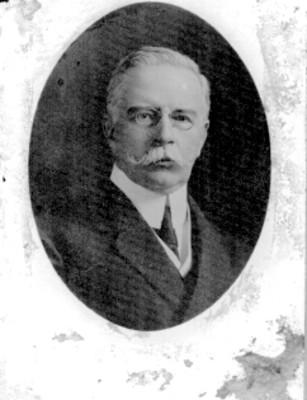 """""""Francisco L[eón] de la Barra"""", retrato"""