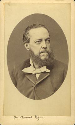 Manuel Payno, retrato