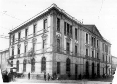 Fachada del palacio de justicia del ramo penal