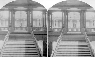 Observatorio, vista de la escalera