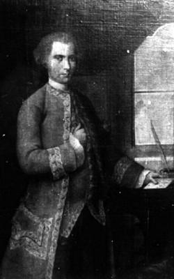 Mathias Gutiérrez de Lautas, retrato al óleo
