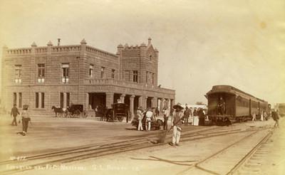Estación del F.C. Nacional, S.L. Potosí