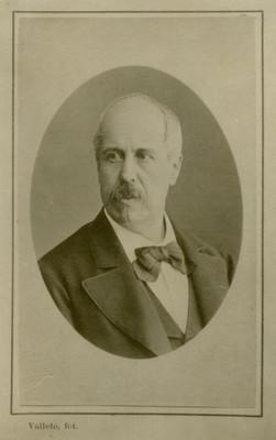 Joaquín García Icazbalceta, retrato