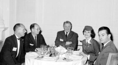 Invitados a la cena de Elias González en el Hotel Presidente