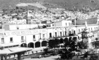 Portal de la Constitución, Pachuca, Hgo