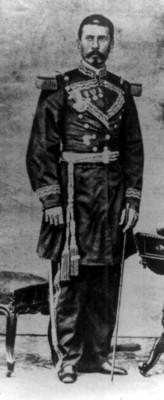 General Porfirio Díaz, retrato