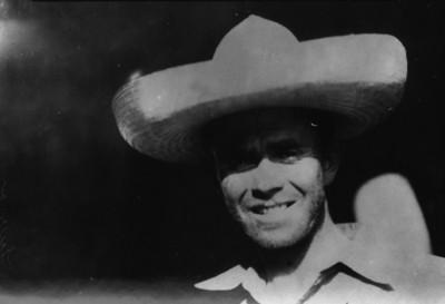 Roberto Fierro, aviador, retrato