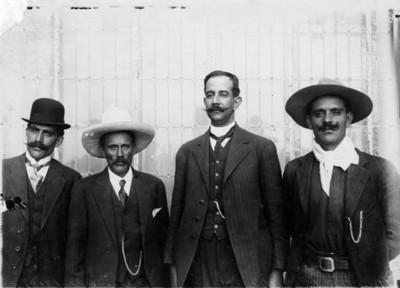 Gral. Alfonso Miranda y sus hijos se rinden ante Huerta