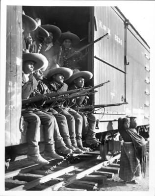 Rurales al mando de Higinio Aguilar salen rumbo a Tampico