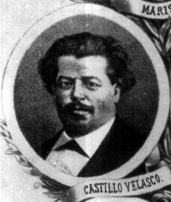 José María Castillo Velasco, litografía