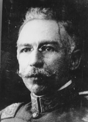 Gral. Manuel M. Diéguez, preso, retrato