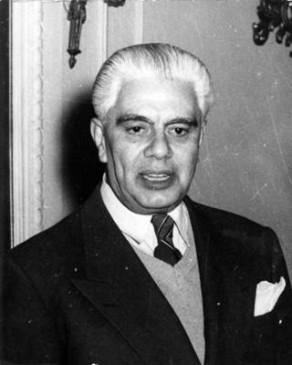 Ignacio Marquina Barredo, director del Instituto Nacional de Antropología e Historia, retrato