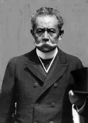 """""""Benito Juárez Maza"""", diputado, retrato"""