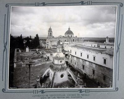 Vista de los techos del convento