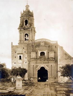 Iglesia de Santa María Tonantzintla, fachada
