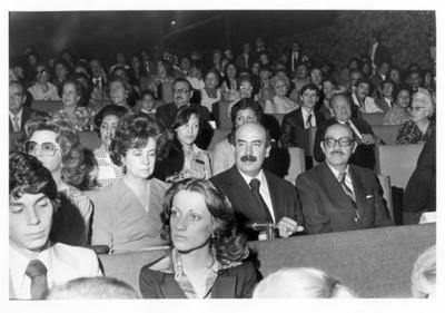 José Juan de Olloqui acompañado por Luis de la Hidalga, Ma. Emilia Téllez y Silvia Klee en un concierto