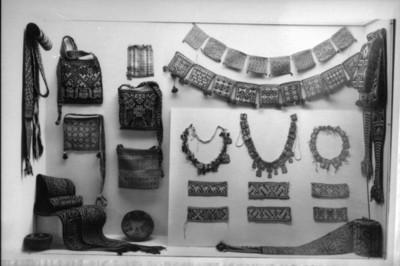 Detalle del montaje en el Museo Nacional de Artes e Industrias Populares