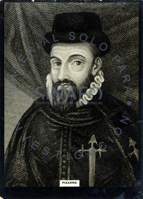 """Francisco """"Pizarro"""" González, explorador y conquistador español, retrato"""