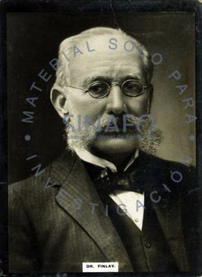 """Carlos Juan """"Finlay"""", retrato"""