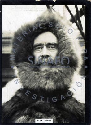 """Robert """"Peary"""", explorador estadounidense, retrato"""