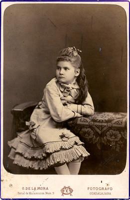 Luisa Díaz, retrato