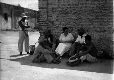 Concepción Acevedo de la Llata, la madre Conchita conversa con presos
