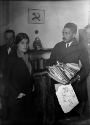 Tina Modotti durante las investigaciones del asesinato de Julio Antonio Mella