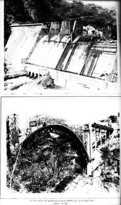 Puente-sifón de Barranca Honda, obras de Cupatitzio