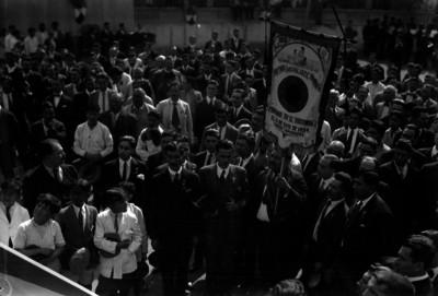 Contingente de trabajadores del Partido Socialista Fronterizo