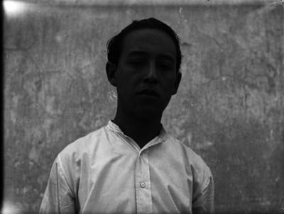 Presunto detenido, retrato