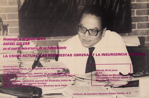 Homenaje a Rafael Galvan