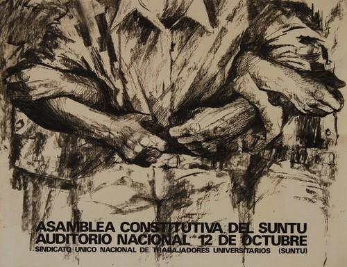 Asamblea constitutiva del SUNTU.