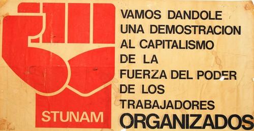 La fuerza del poder de los trabajadores organizados.